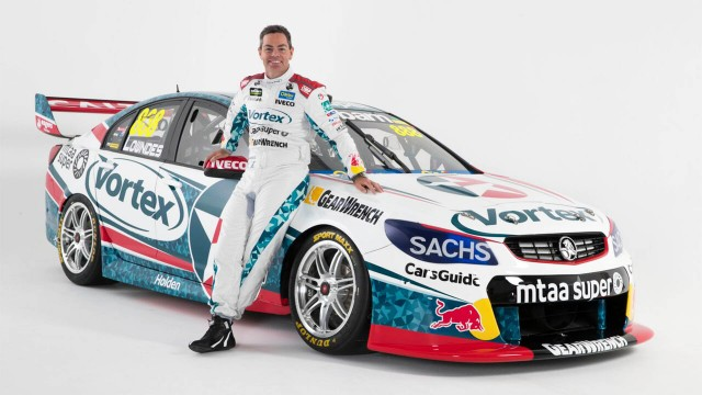 TeamVortex reveals Lowndes' livery