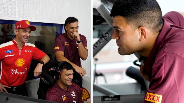 Maroons get a taste of Supercars life
