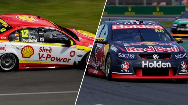 Coulthard, Whincup share Albert Park poles