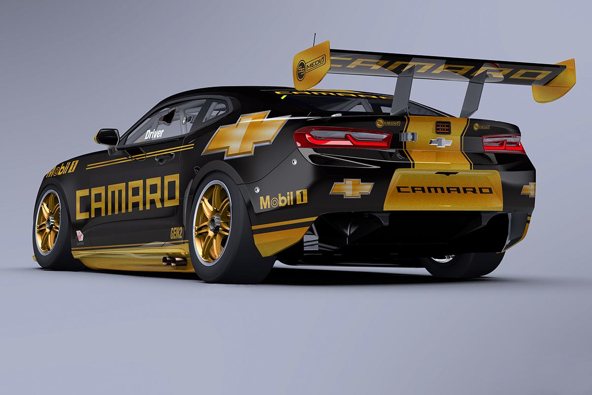 Super Car Racing >> Tickford Boss Camaro Supercar A No Brainer Supercars