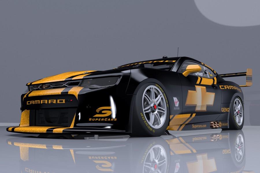 How a Camaro Supercar may look. pic: SS Media
