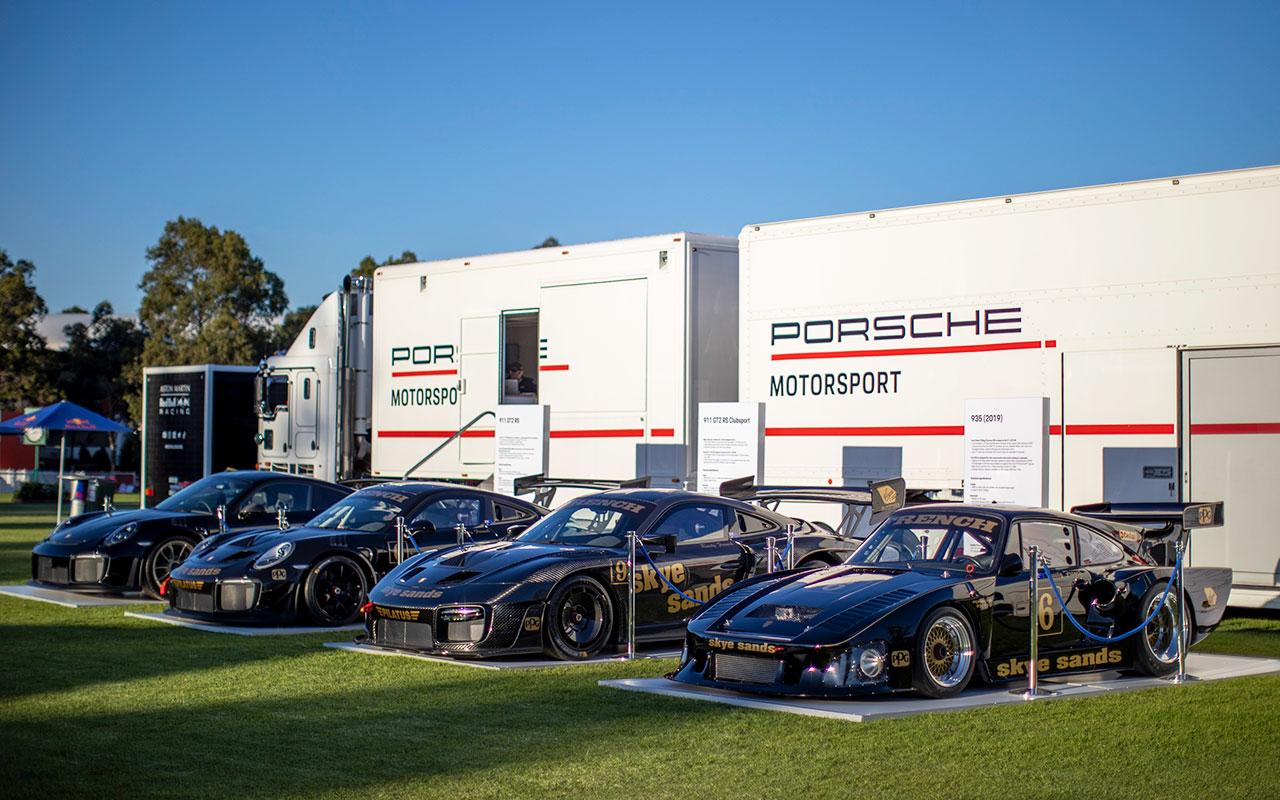 Tickford co-owner's stunning Porsche quartet
