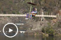 Drivers hit new heights at Cataract Gorge