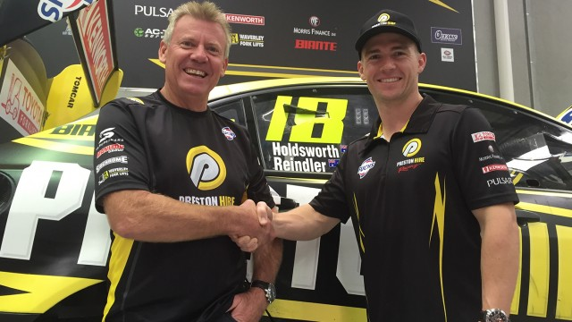 Holdsworth re-signs at Preston Hire Racing