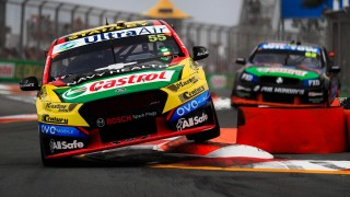 Mostert edges Caruso in opening practice