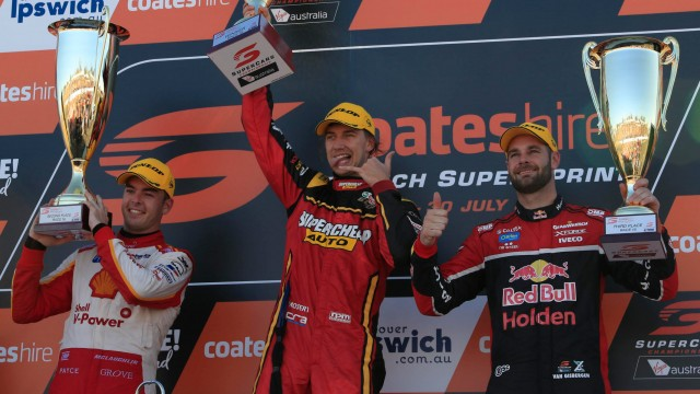 Mostert holds on for Race 16 victory