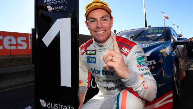 Lowndes drives into Holden history