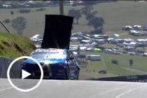 Crash takes roof off Jones Commodore