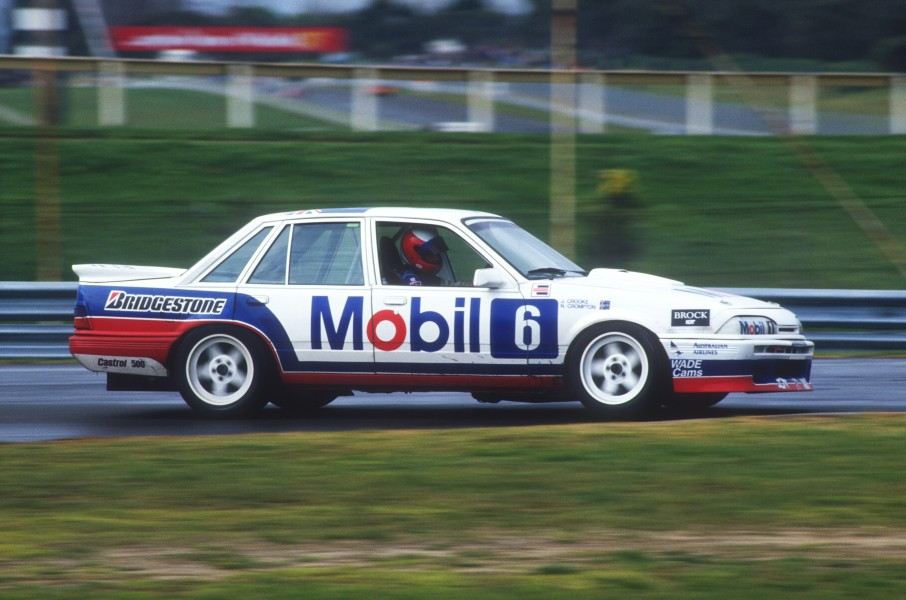 Crompton raced for Brock in the 1987 Sandown 500, but missed out on a Bathurst start