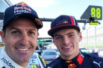 Verstappen joins Whincup for Supercars lap
