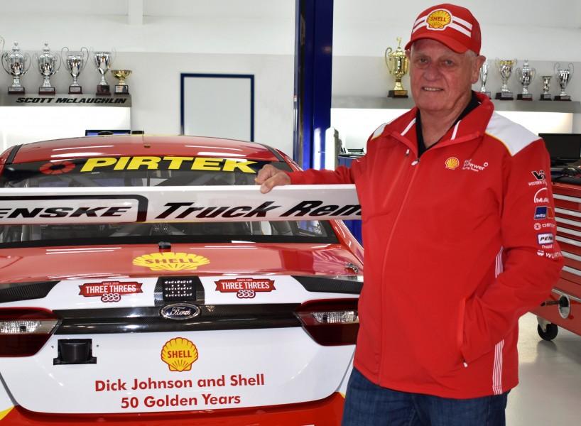 Dick Johnson Shell 50th