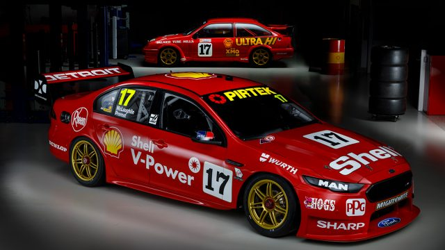 DJRTP honours Shell Sierra with retro look