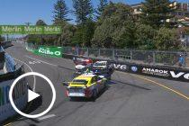 Super2 title contenders in practice tangle