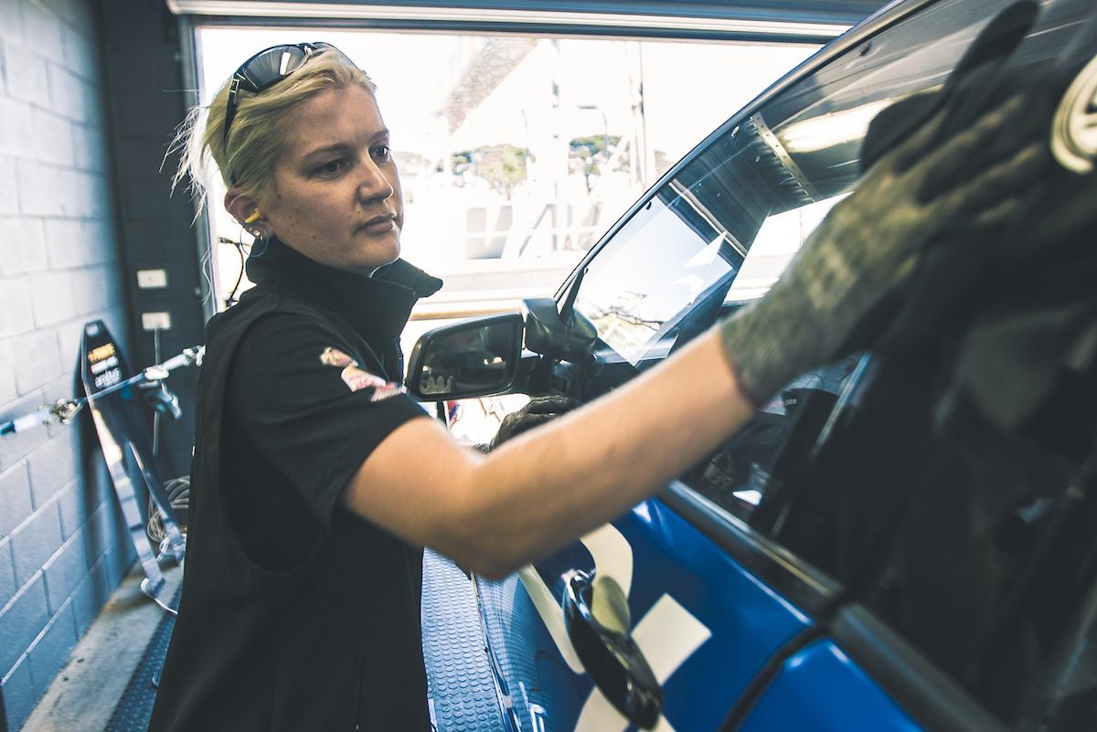 Frances Buckley Erebus mechanic