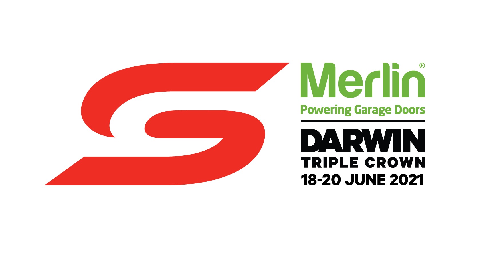 V8 Supercars - Merlin Darwin Triple Crown logo
