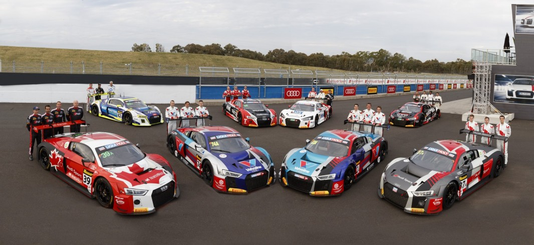 The eight-strong Audi line-up
