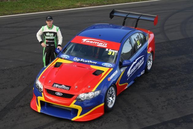 Horne ran a Ford in the NZ SuperTourer class