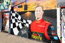 Reynolds immortalised in street art
