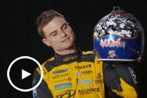 Drivers explain their helmet designs