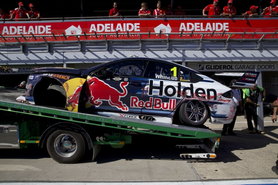 Craig Lowndes of Autobarn Lowndes Racing during the ,  at the , , , March 02, 2018.