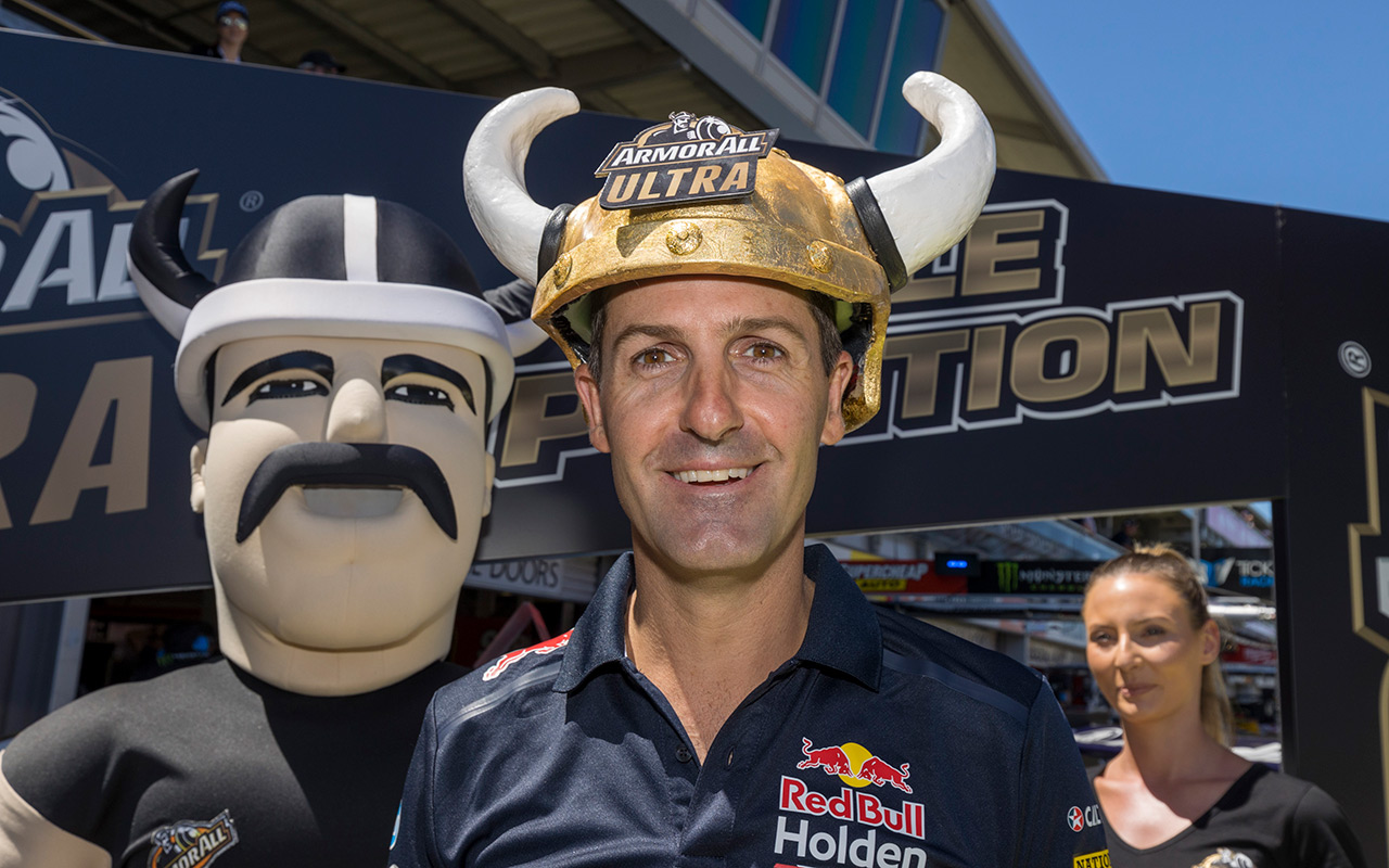 Whincup pips smokey Reynolds for pole