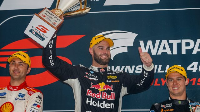 Van Gisbergen conquers wet and wild Townsville