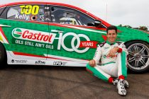Kelly gets Castrol centenary livery