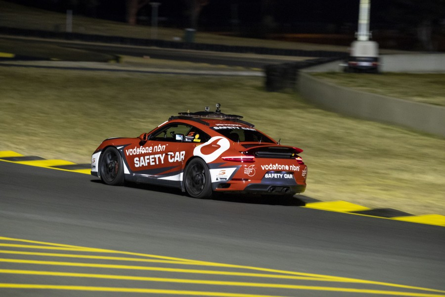 Red Rooster Sydney SuperNight 300 event 10 of the Virgin Australia Supercars Championship, Sydney, New South Wales. Australia. July 3rd to 4th 2018