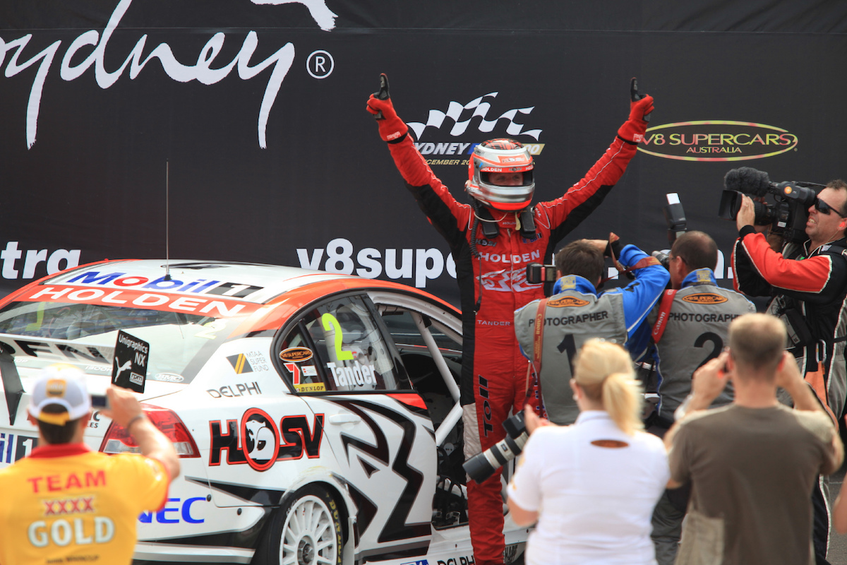 during the Sydney Telstra 500, event 14 of the Australian V8 Supercar Championship Series at the Homebush Street Circuit, Sydney, New South Wales, Saturday, December 05, 2009.