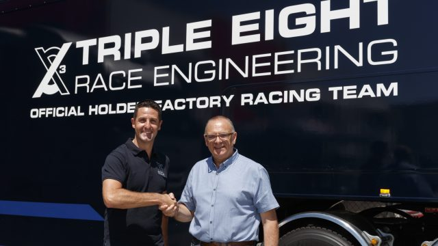 Whincup buys stake in Triple Eight