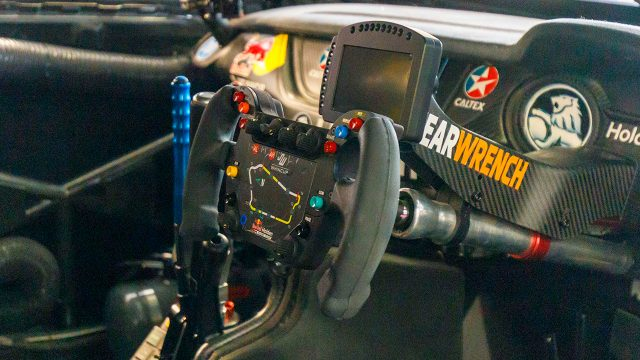 Triple Eight debuts F1-style steering wheel
