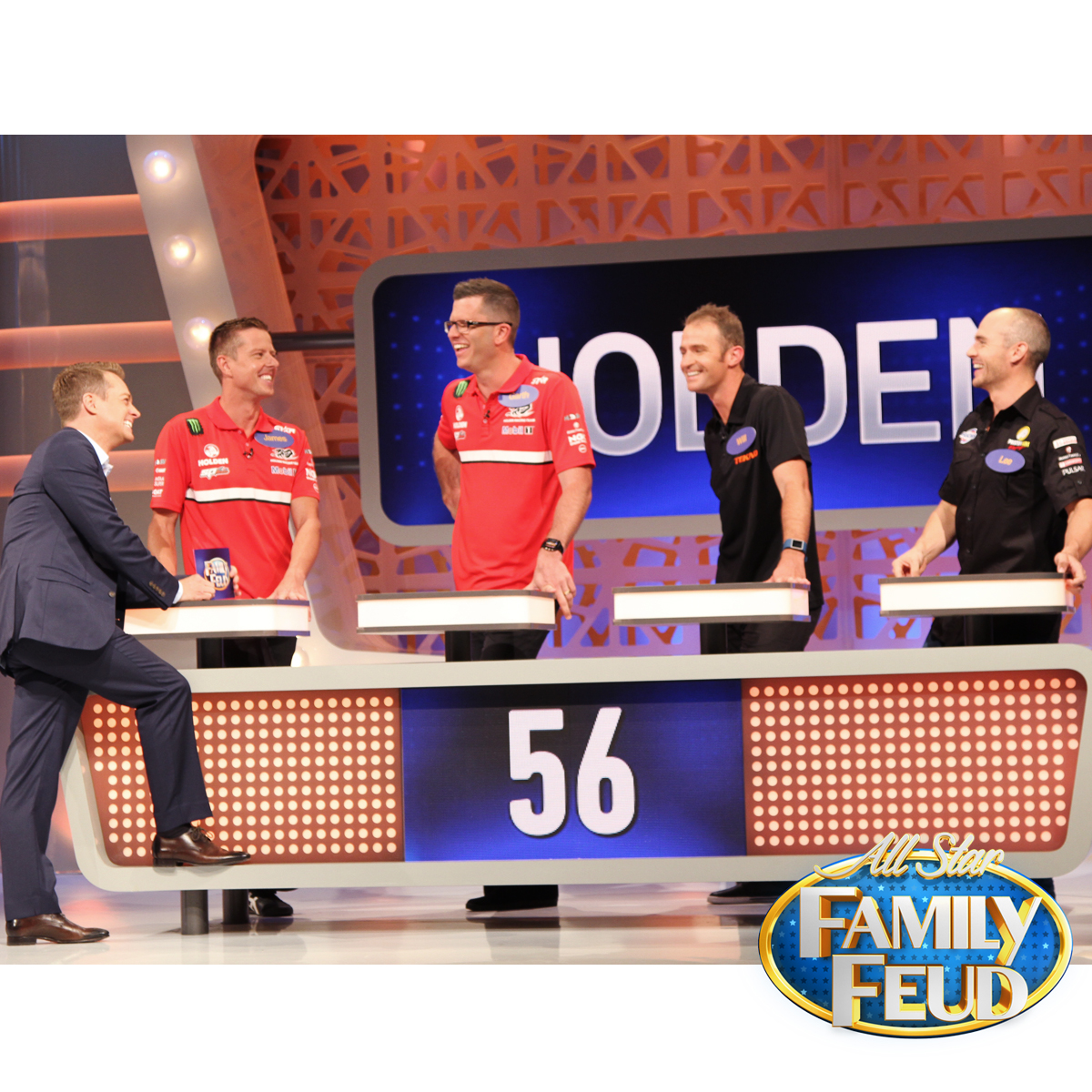 Family Feud holden team
