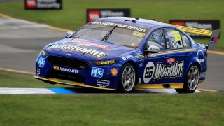 Coulthard lands first blow