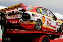 Coulthard says rollover doesn't end title hopes