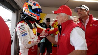 Coulthard edges McLaughlin to Race 7 pole