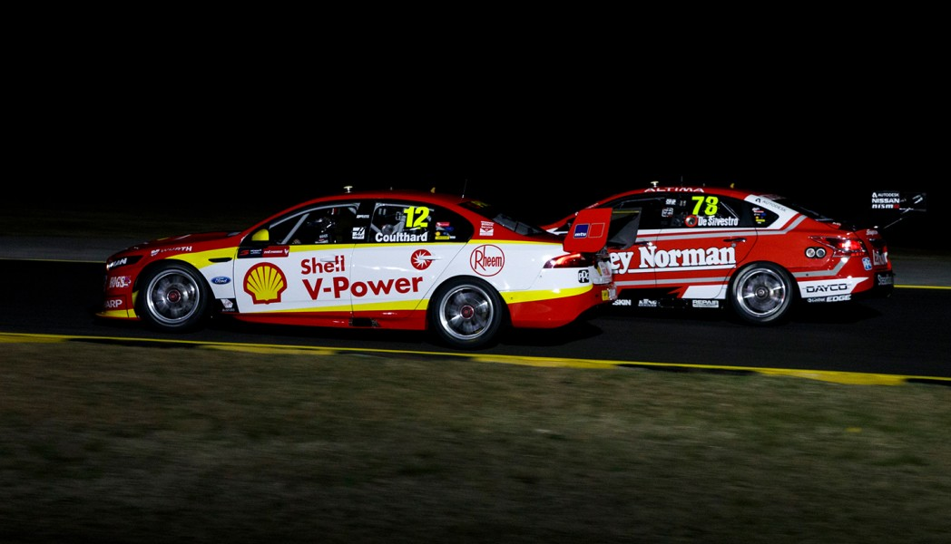 A night test took place at Sydney Motorsport Park in August