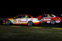 Coulthard, De Silvestro complete Sydney night test