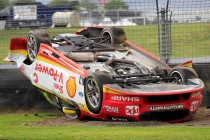 Bargwanna helps rescue crashed Coulthard Ford
