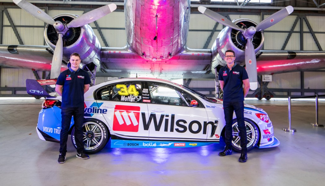 Garry Rogers Motorsport 2017 Wilson Security James Moffat Garth Tander