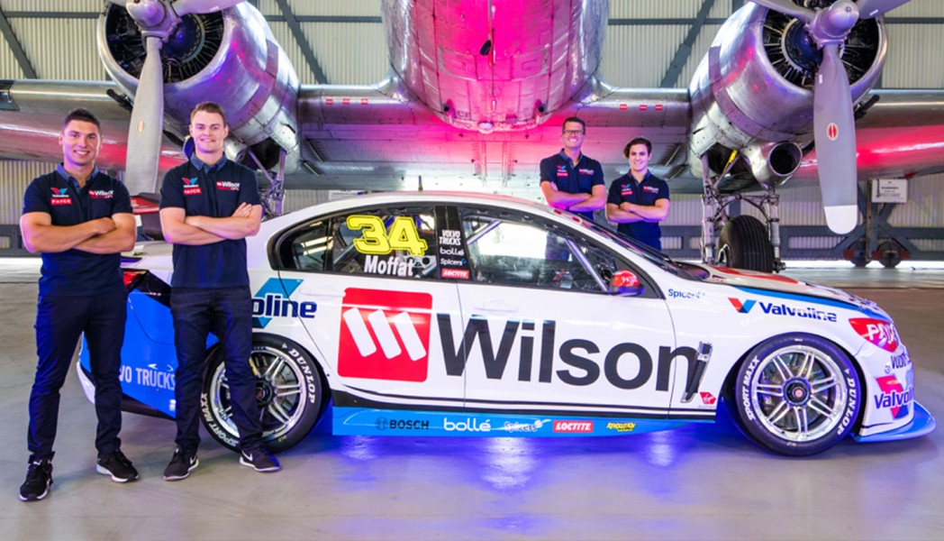 Garry Rogers Motorsport 2017 Wilson Security James Moffat Garth Tander Richard Muscat James Golding
