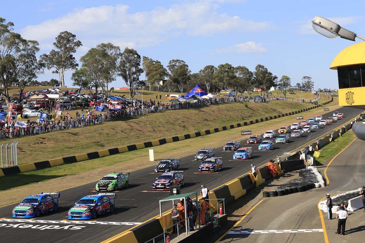 during the Sydney Motor Sport Park SuperSprint, in Sydney, Australia, August 22, 2015.