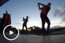 McLaughlin and Coulthard test golf skills