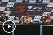 Saturday Press Conference: Watpac Townsville 400