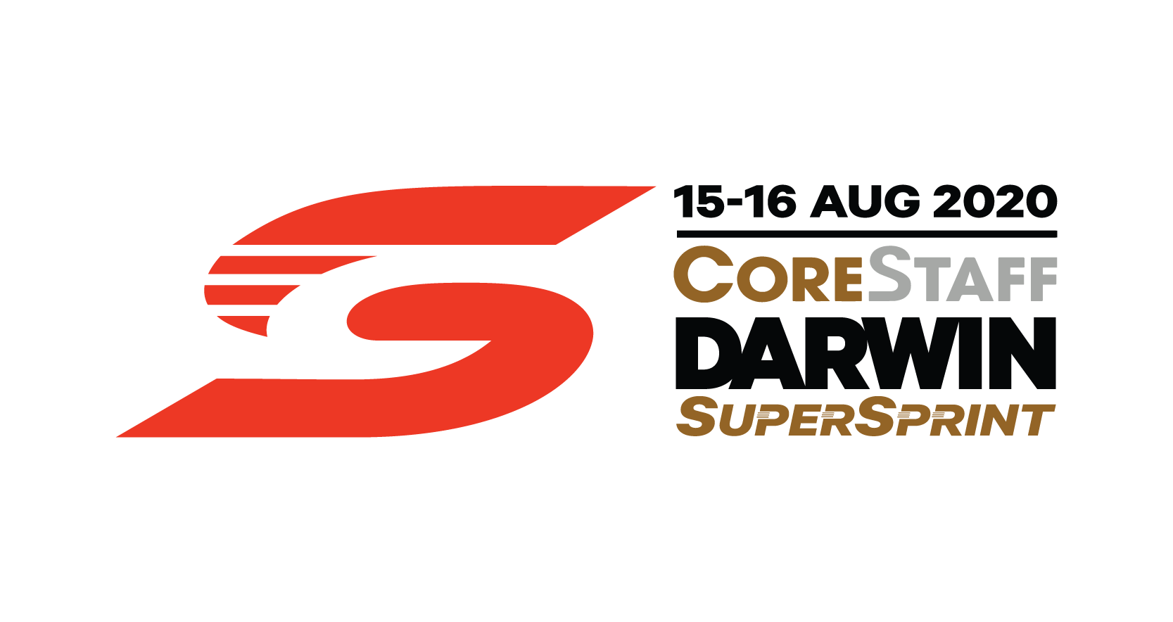 V8 Supercars - CoreStaff Darwin SuperSprint logo