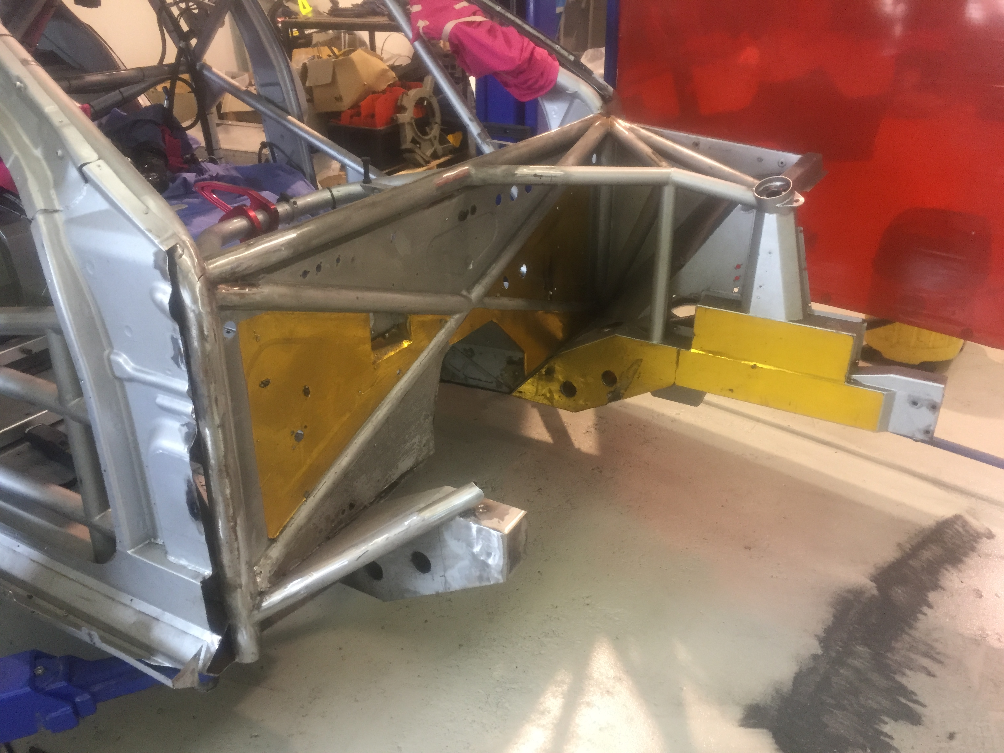 Erebus chassis repair 2016
