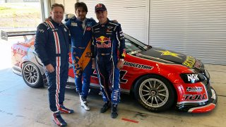 F1 star and WRC legend test Bathurst-winner
