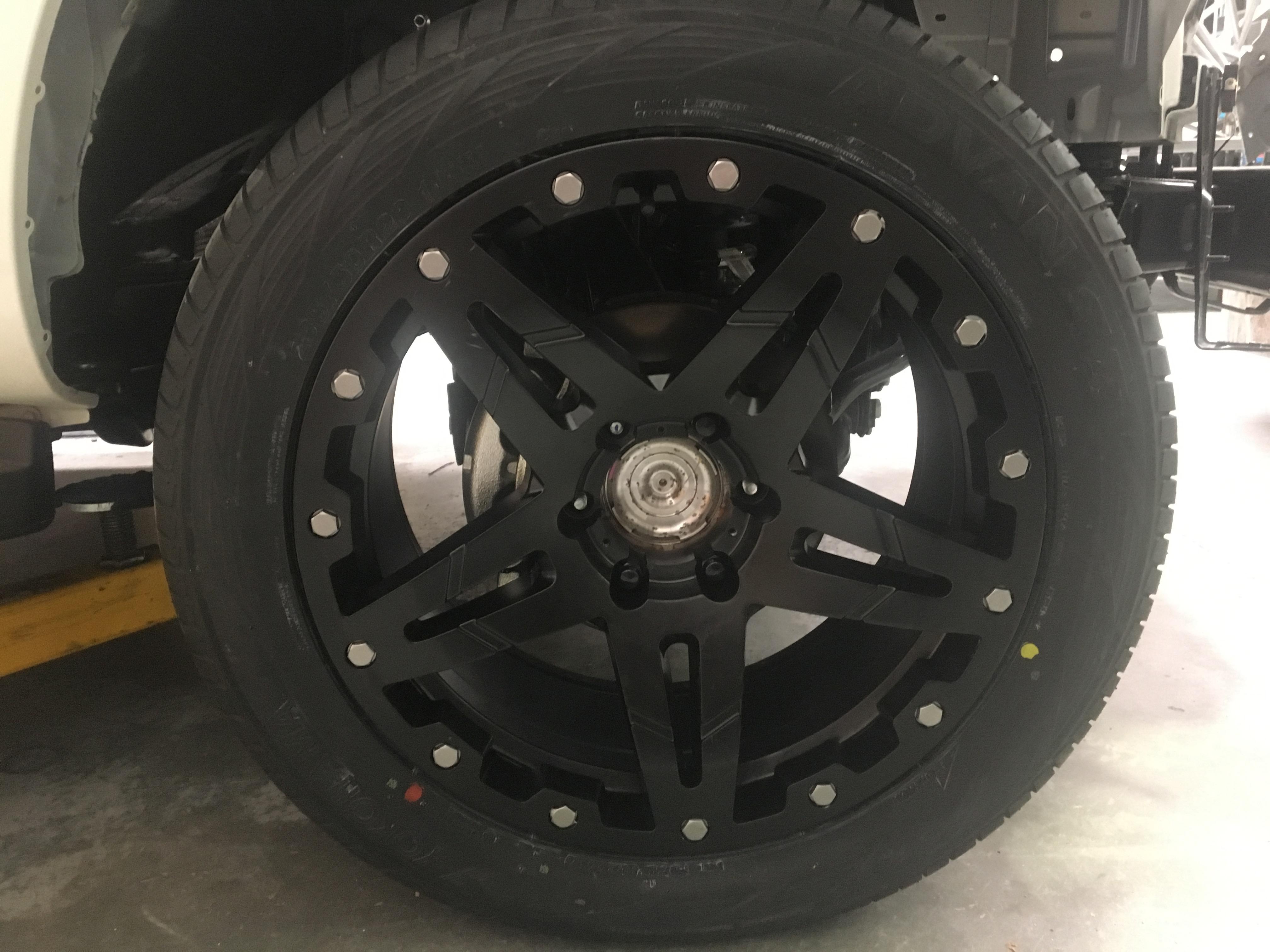 SuperUtes wheel