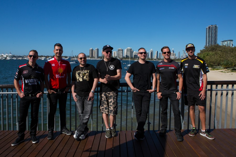 The Hilltop Hoods were on hand for the announcement