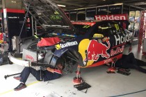 Van Gisbergen Holden escapes major damage