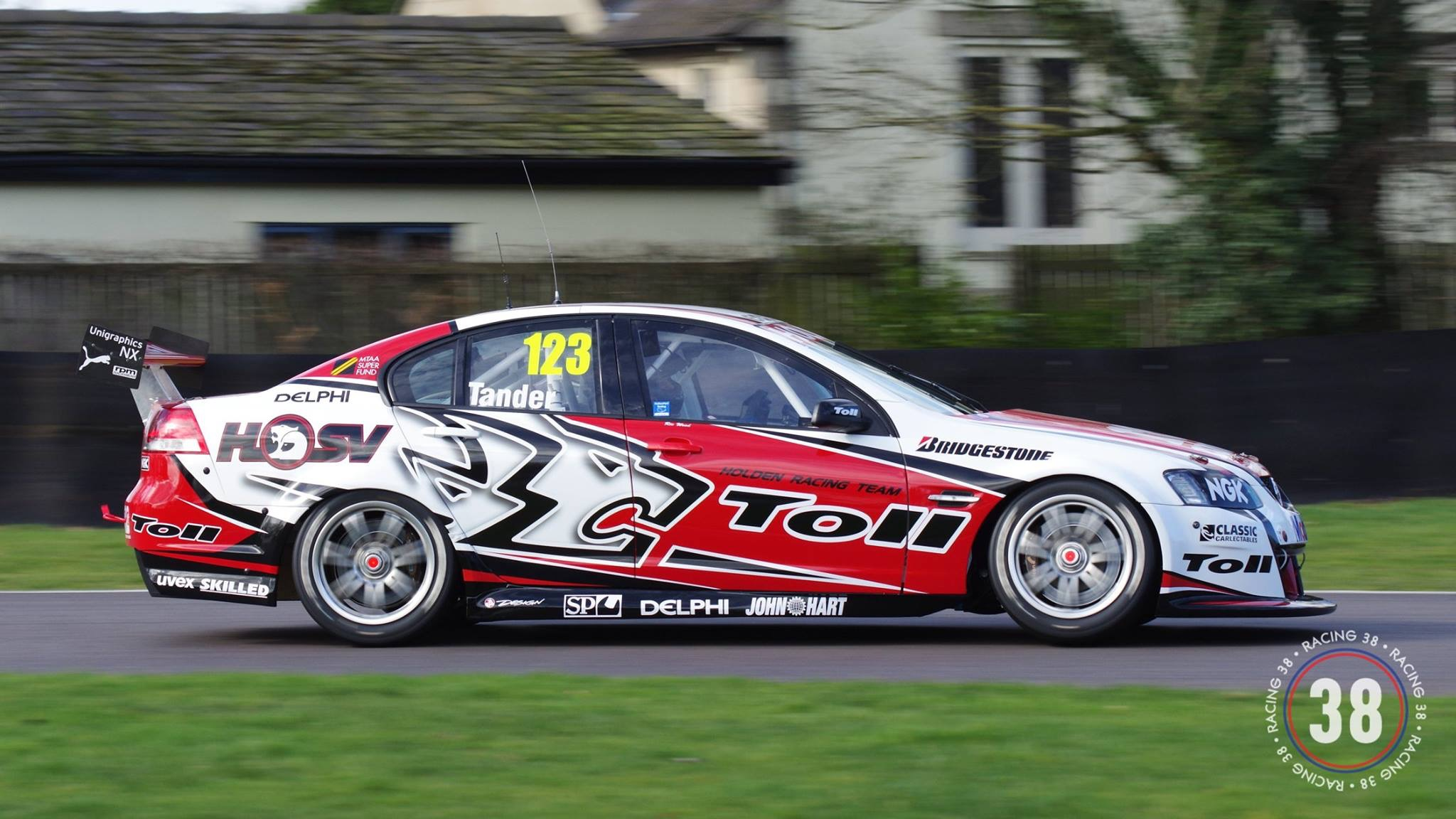 Ex-Walkinshaw Holden hits track in UK | Supercars